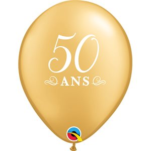 B.11'' 50 ANS OR 2C P / 50