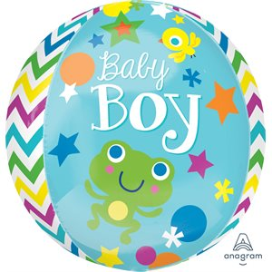 "15""M. SWEET BABY BOY ORBZ"