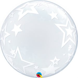"22""M.DECO BUBBLE STYLISH STARS"