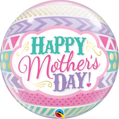 M.22'' HAPPY MOTHER'S DAY BUBBLE