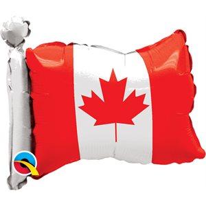 "17""M.CANADIAN FLAG SHAPE"