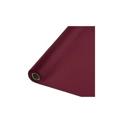 BURGUNDY TABLE ROLL 100'