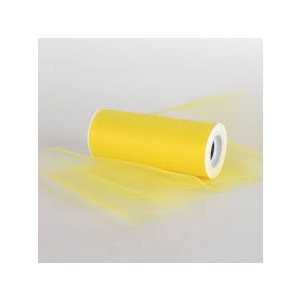 24'' YELLOW TULLE 25 YARDS